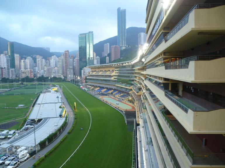 Happy Valley Racecourse. - Hong Kong