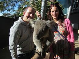 Meeting the natives!!! , Anna-Maria P - August 2012