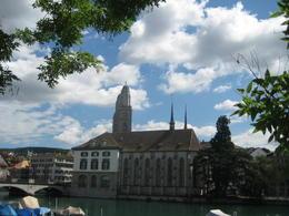 Grossmuenster Kirche on City tour , Reba A - July 2012