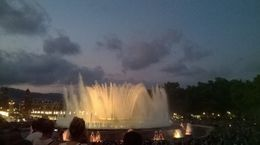 take the ebike tour to the magic fountain show at 21:00 so well worth it , Joseph N - August 2015
