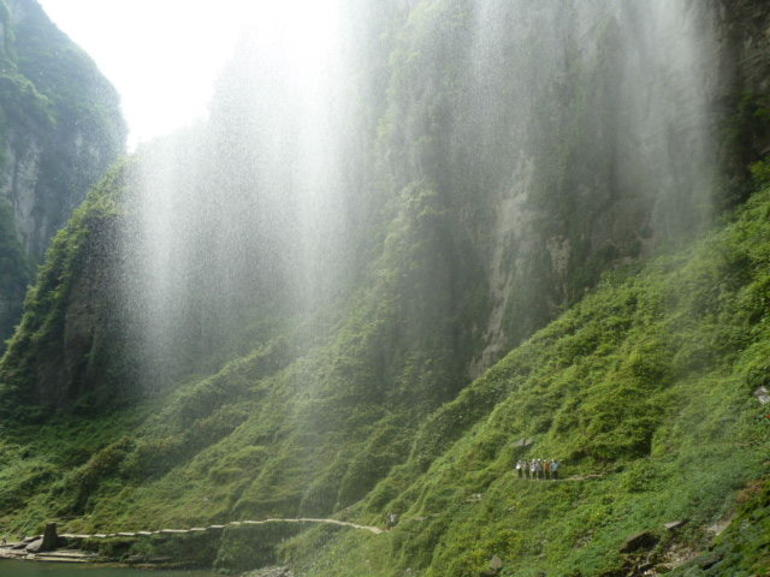 Outside the caves - Yangshuo