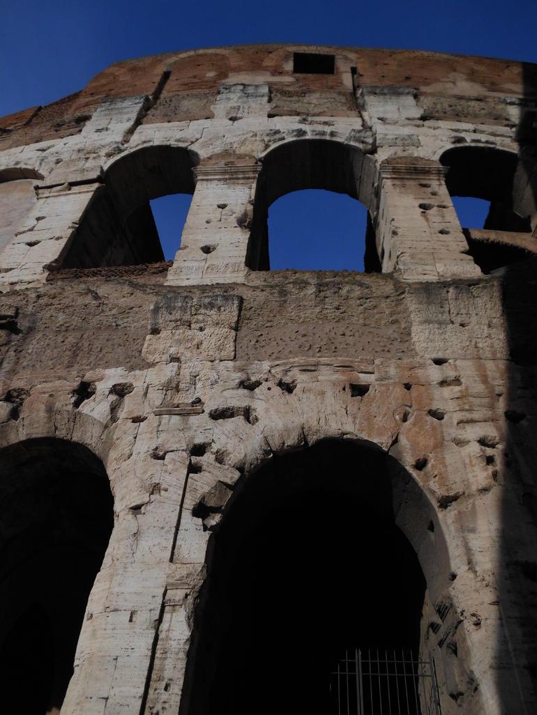 Outside the Colosseum - Rome