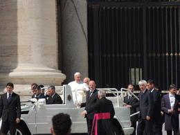 Vi fik set Paven. Stort. , Jørn I - April 2013
