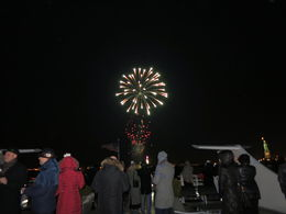 Pretty close view of the fireworks, Patricia P - July 2015