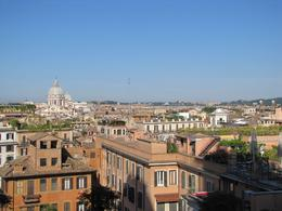 View of Rome from top of Castello del Angelo, Carol Lee M - May 2010