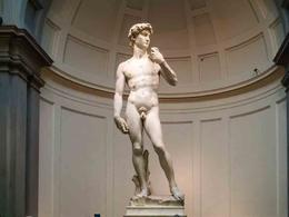 Michelangelo's David , Alex - September 2014