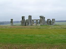 Snapshot of Stonehenge in the windy cold with slight drizzling rain! , naash1a - April 2013