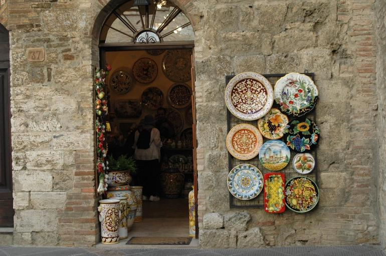 Store in San Gimignano - Florence