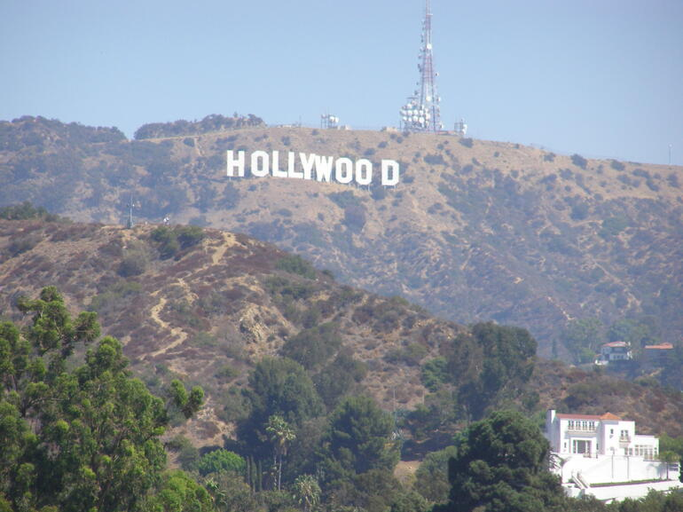 The Hollywood Sign - Los Angeles