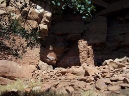 Up close and personal with the Indian ruins., Brenda R - October 2008