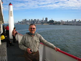 Dad with a great view of San Francisco in the back - June 2011