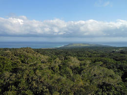 View from lookout tower at the top of Kenting National Park looking south to the southern tip of the island , Barry S - January 2013