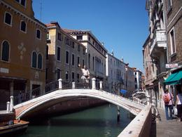 One of the many canals and streets in Venice., Jasper S - August 2008