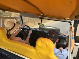 In the jeep with my new friends. Bumpy ride sometimes but so much fun! , djcj - June 2017