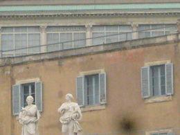A partir de notre visite vue sur les appartements du Pape François , Daniel G - April 2015