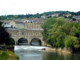 The view of the three Arched Bridge in Bath , sjg6922 - July 2014