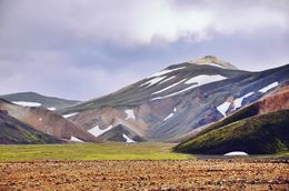 Hiking the Landmannalaugar trail , RM - September 2015