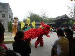 Dancing Lions at Ancestral Temple , Penny H - April 2014