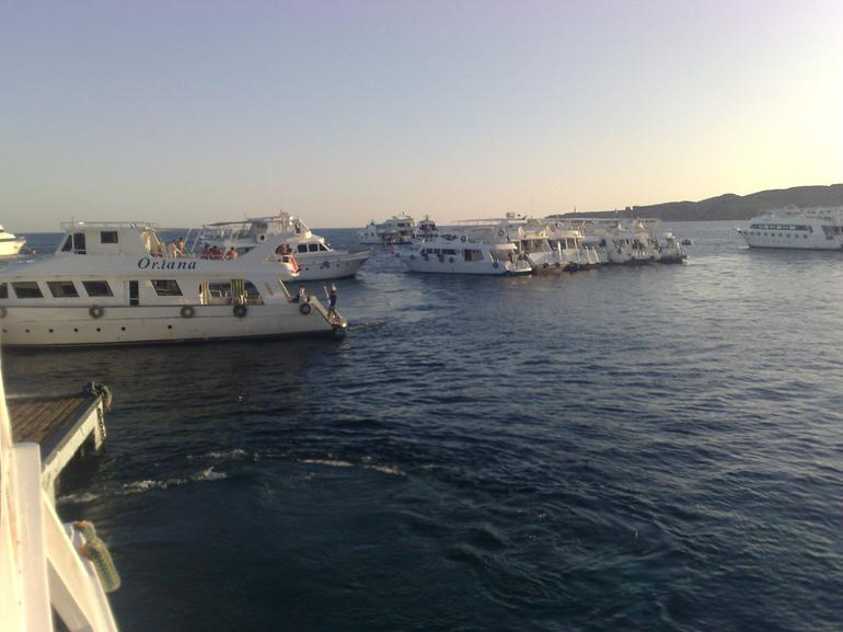 End of the day, we all come home, truly amazing! - Sharm el Sheikh