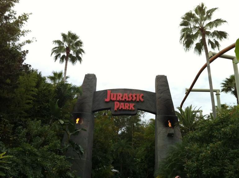 Entrance to Jurassic Park - Orlando