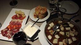 Iberian ham and selected food , Sharron U - November 2015