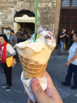 Gelato from Gelateria Dondoli in San Gimignano - winner of World's Best Gelato four times! , Michael C - November 2015