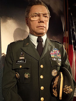 Colin Powell also served as National Security Advisor 19871989, as Commander of the U.S. Army Forces Command 1989 and as Chairman of the Joint Chiefs of Staff 19891993, holding the latter position..., Mary H - May 2015