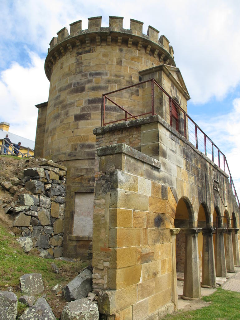 Guard Tower at Port Arthur - Hobart