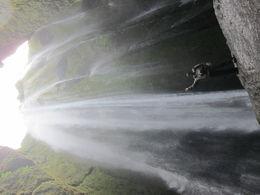Inside a hidden waterfall. , charlie - June 2016