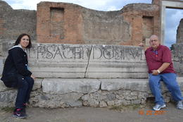 Pompeii rest stop! , Richard P - October 2011