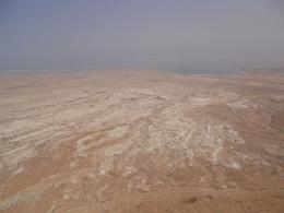 passing the Judean desert - August 2010