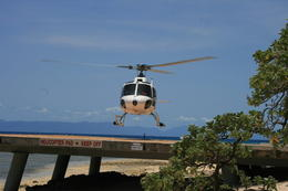 helicopter tour round the island , Pal B - December 2012