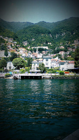 One of many stunning views along Lake Como , Cheryl H - July 2015