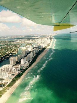 Au dessus de Miami Beach , Caroline S - November 2015
