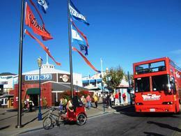City Tour loading at Pier 39 , Girlie L - November 2014