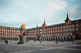 Plaza Mayor (Square) in Madrid, Spain - May 2011