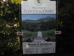 PowersCourt Sign , israel r - October 2015