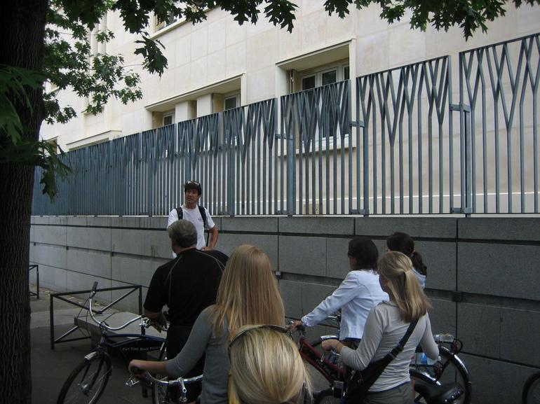 Pre-ride Instructions - Paris