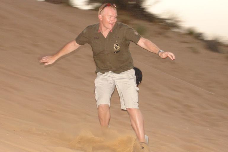 Sand Boarding -