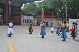 Changing of the guards ceremony at Deoksugung Palace, euniceg - August 2012