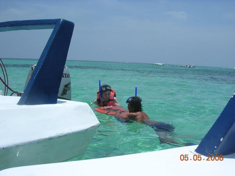 Snorkel Time - Cancun