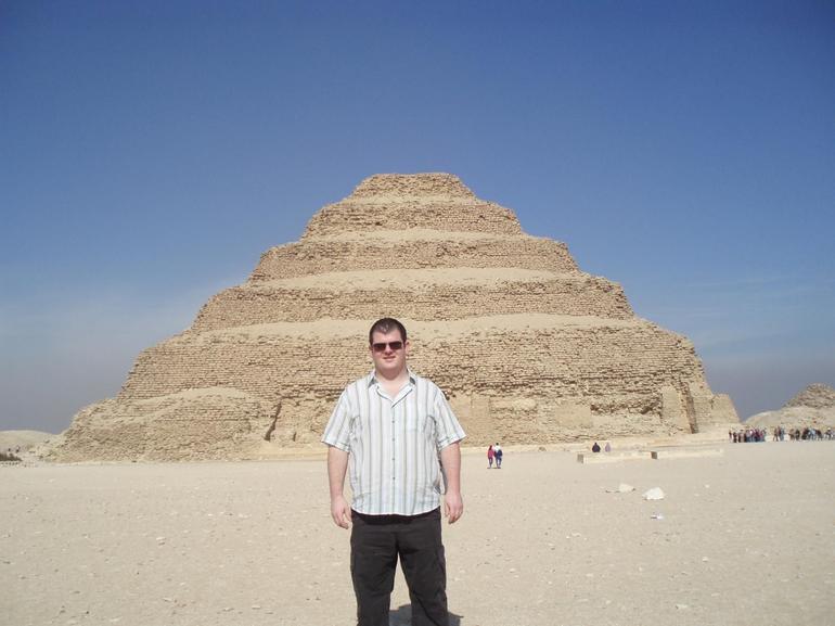 Steps at Saqqara/Sakkara - Cairo