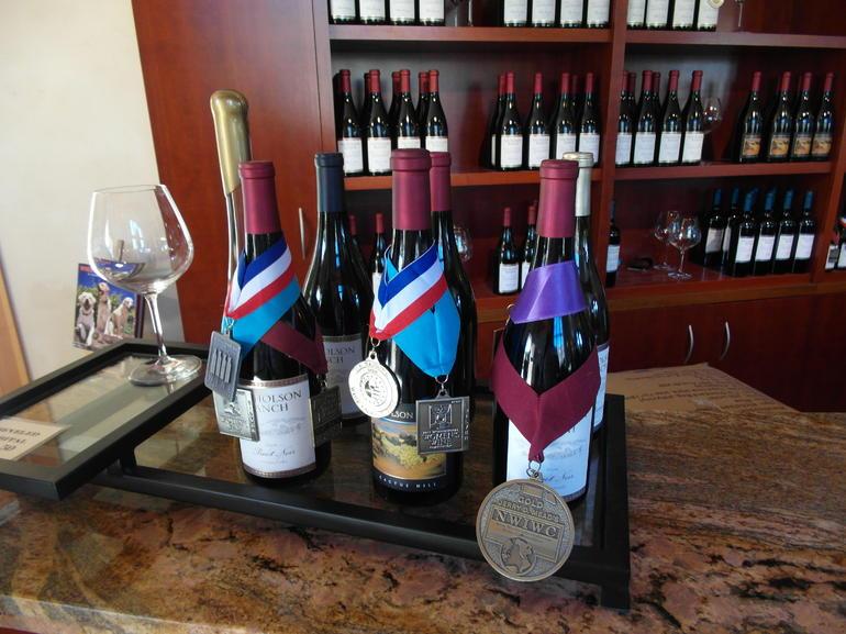 The award winning wines at Nicholson Ranch - San Francisco