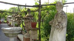 The island of Torcello had a beautiful garden full of sculptures., Sadaf R - June 2008