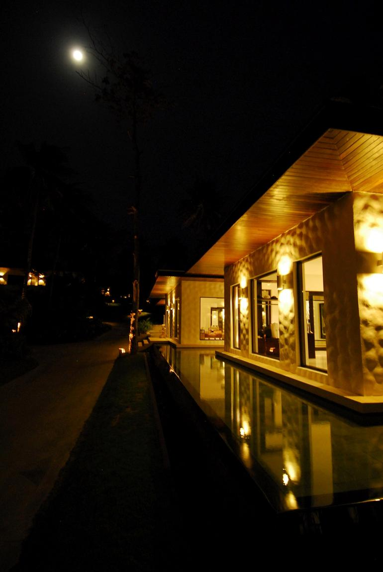 The Spa at Night -