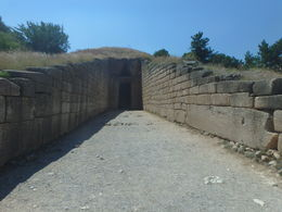 at Mycenae , Matteah H - July 2015