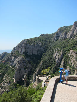 Good view around Montserrat. , allie - August 2012