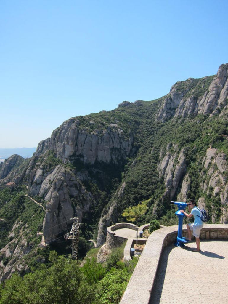 View Around Montserrat - Barcelona