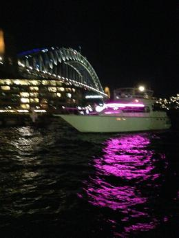 Sydney harbour bridge in the distance - May 2014