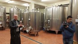 2nd winery cellar , Luisa H - January 2017